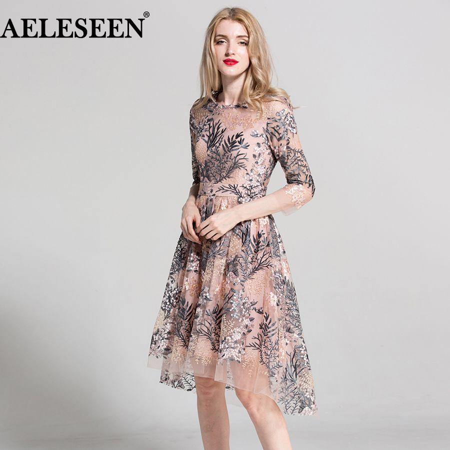european style new dresses sleeves elegant fashion pink