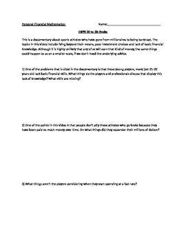 espn 30 to 30 broke movie guide broken movie movie guide and worksheets. Black Bedroom Furniture Sets. Home Design Ideas