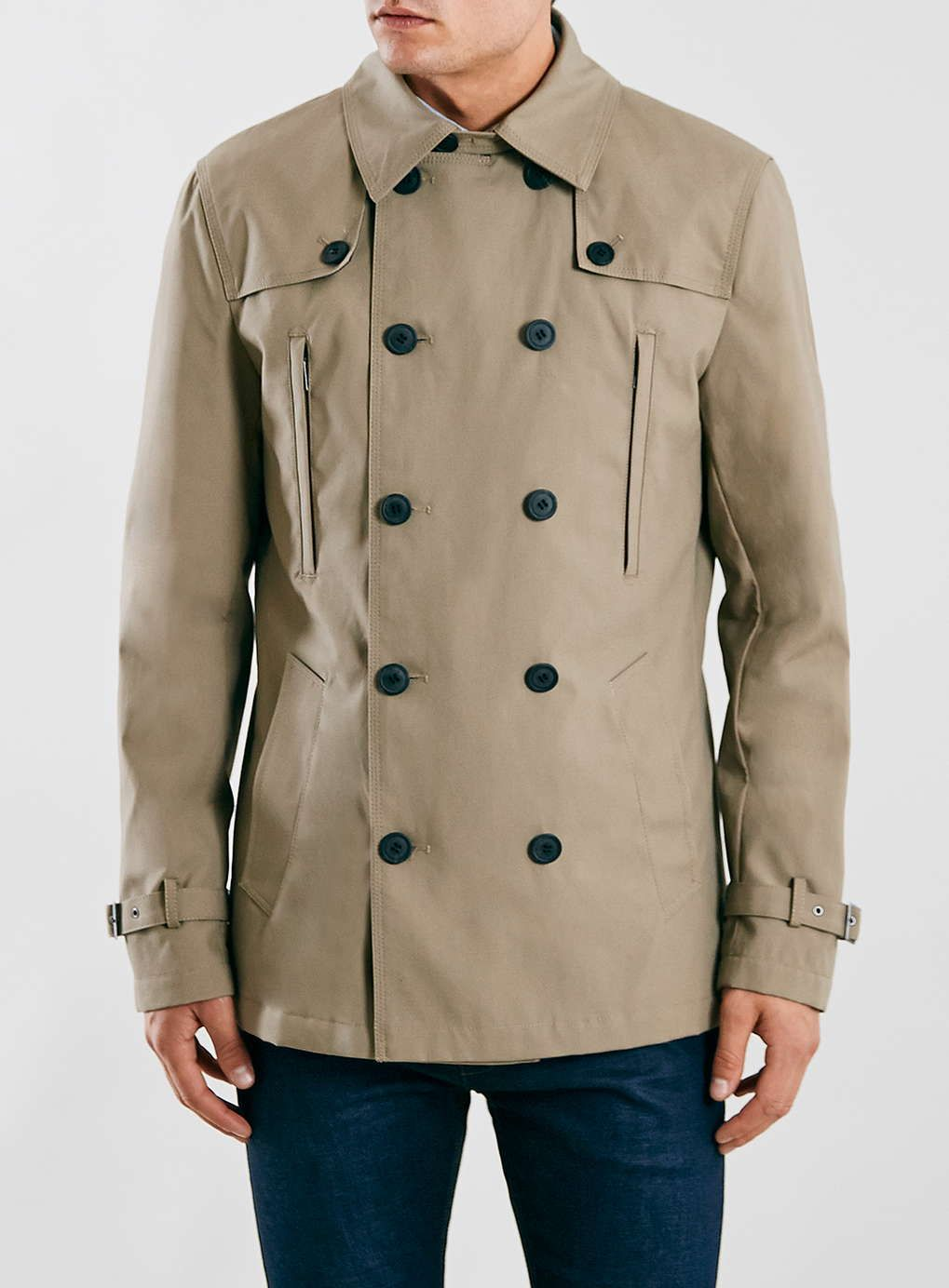 The Trench Homme Topman Trenches Selected Coat Beige 250 ZBqpYWA