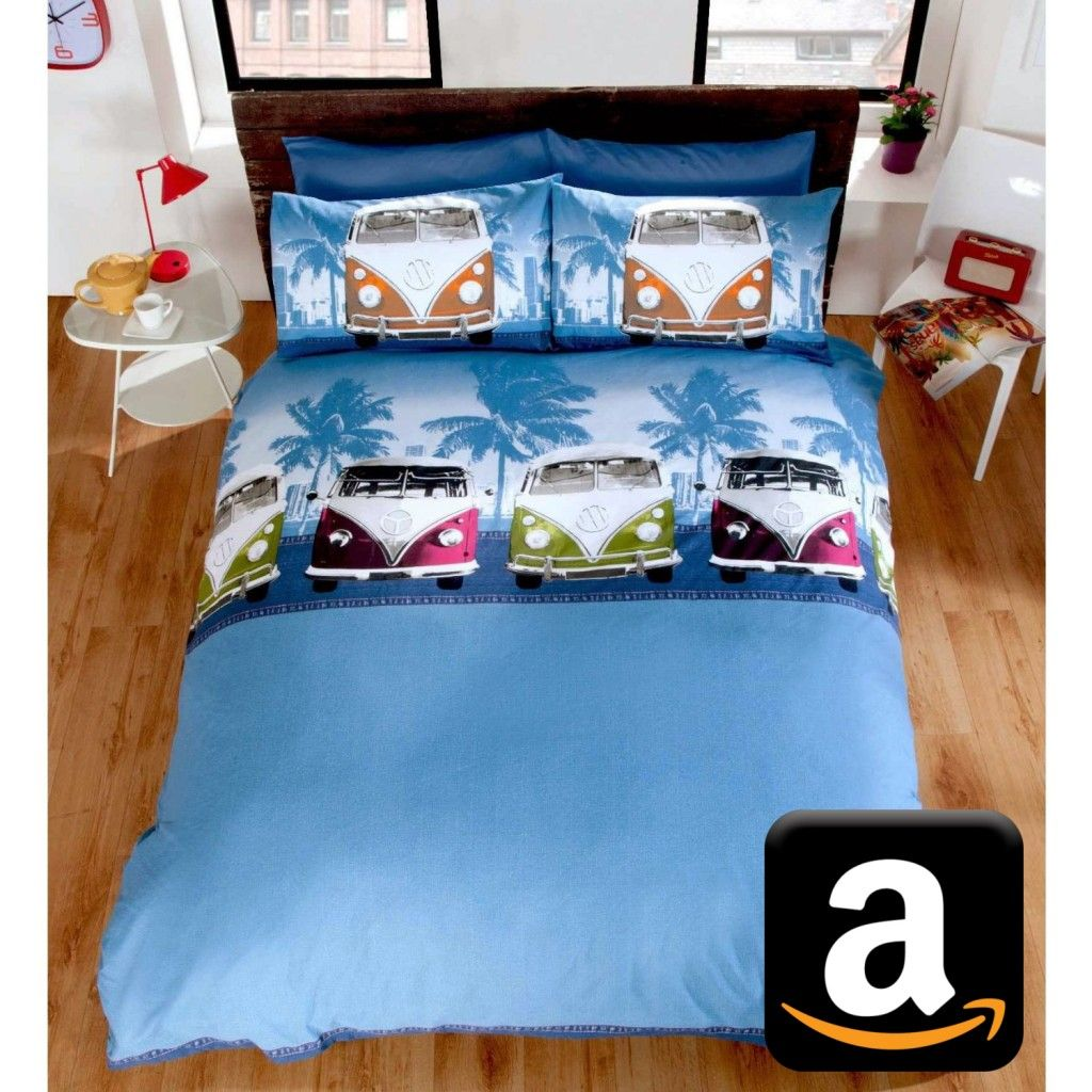 bettw sche vw t1 bulli vw camper bus vw volkswagen bulli bully bus california bullimania. Black Bedroom Furniture Sets. Home Design Ideas
