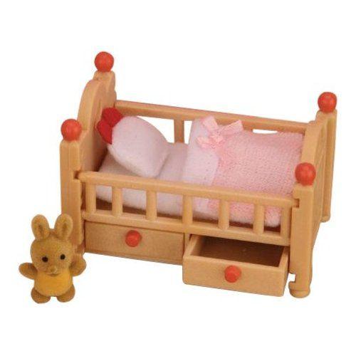 giochi per bambine Lettino per bambole con bianchieria IKEA DUKTIG