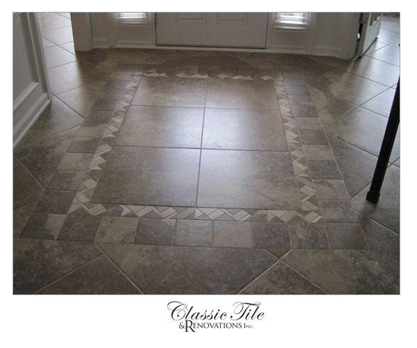 Vinyl Floor Inlays : Tile inlay kitchen ideas pinterest