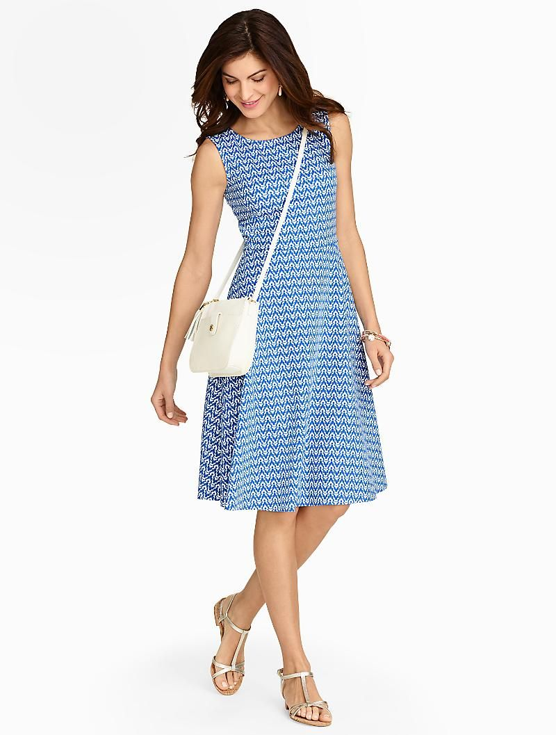 The Perfect Summer Dress In A Cool Comfy Ottoman Knit