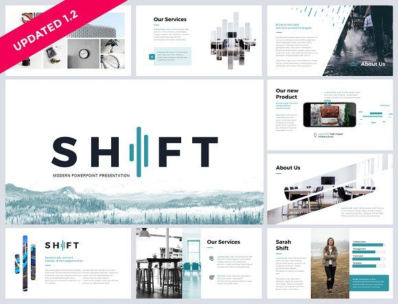 Shift modern powerpoint template by reshapely on creativemarket shift modern powerpoint template by thrivisualy on toneelgroepblik