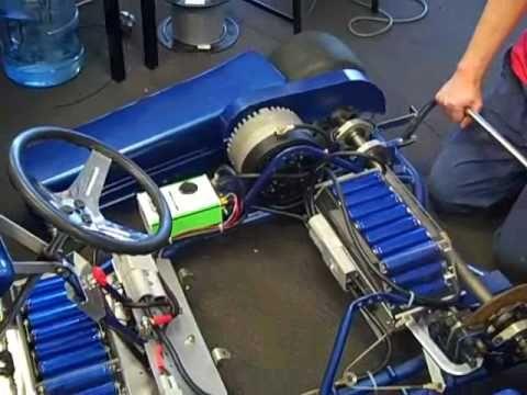 Size Of Batteries Too Chisholm Electric Go Kart Part 5 Embley
