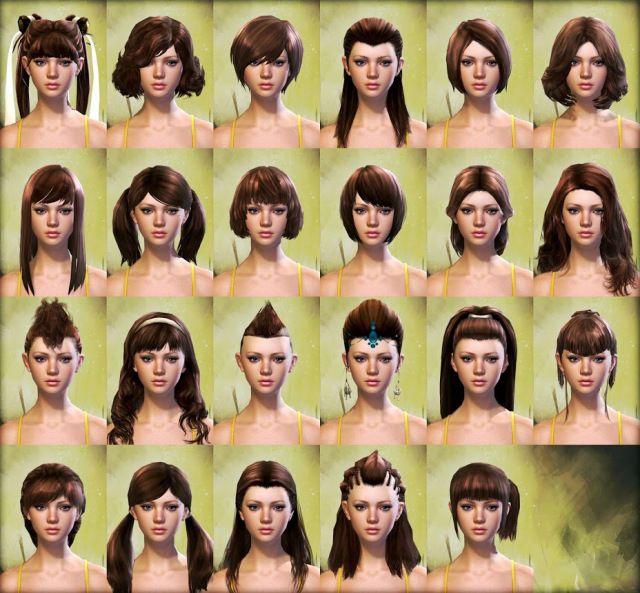 Guild Wars 2 Human Female Hair Character Creationcustomization