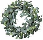 Photo of Lvydec Artificial Eucalyptus Wreath – 20″ Fake Green Leaves Eucalyptus Wreath #H…