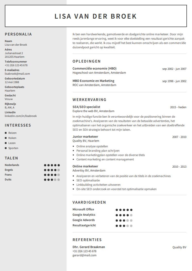 Google Afbeeldingen resultaat voor https//www.cvmaker.nl