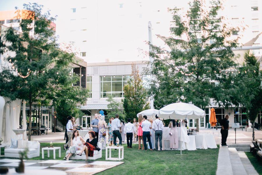 A Destination Wedding At The Gallivan Center Plaza Culinary Crafts