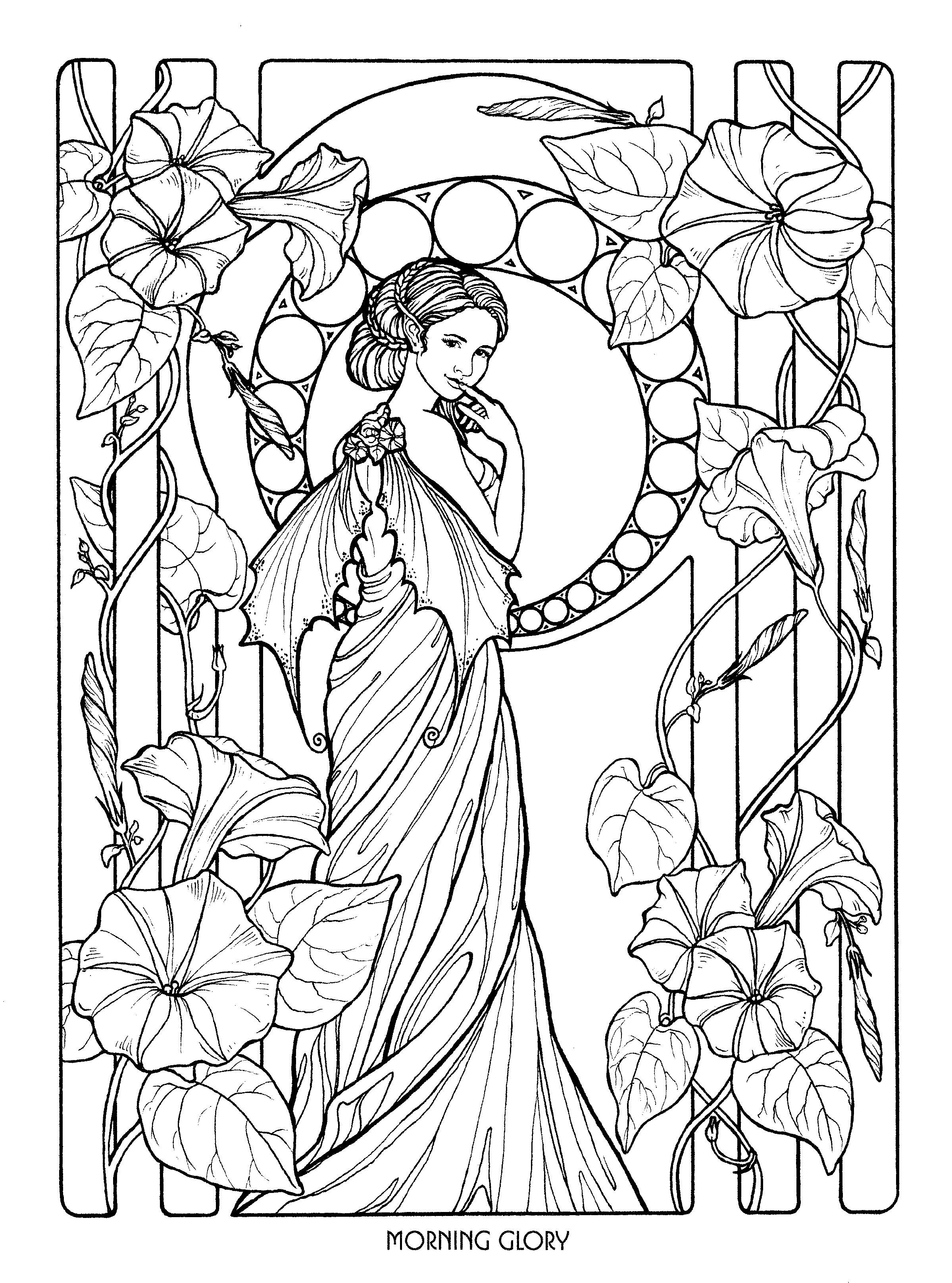Fairy 24 Fairy coloring pages Fairy coloring Coloring pages