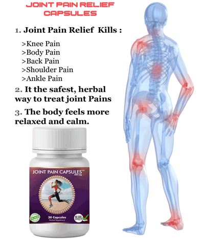 Joint Pain Capsule Is The Best Option For All Body Joint