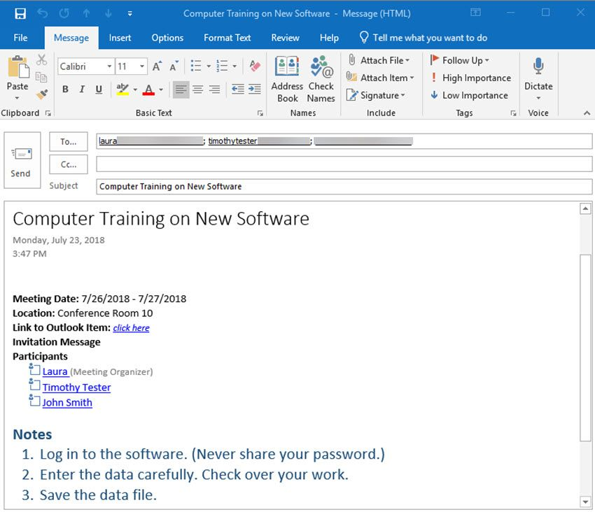How to Use OneNote With Your Outlook Calendar Outlook