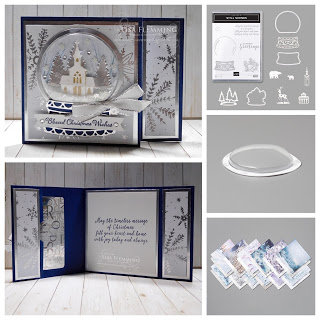 Photo of Fantastic Friday – Still Scenes Snow Globe Card and Gift Card Holder
