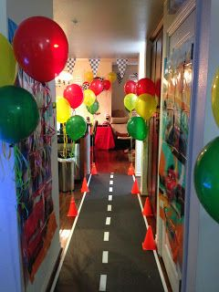 Disney Cars Birthday Decor with Inspirations from La Design Boutique