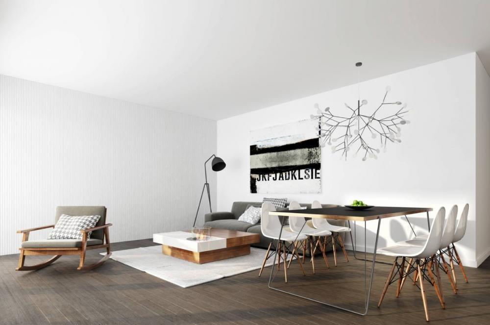 Een design woonkamer inrichten? 10 tips voor een strak interieur ...