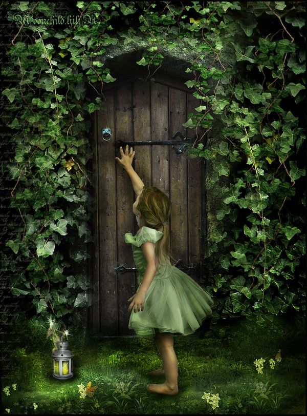 Secret door inspires you to step back into childhood