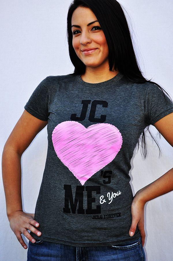 JC LOVES ME Christian t-shirt by JCLU Forever Christian t-shirts $17.99