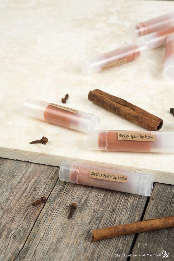 Vanilla Spice Vegan Lip Balm   Vegan lip balm, Vegan lip ...