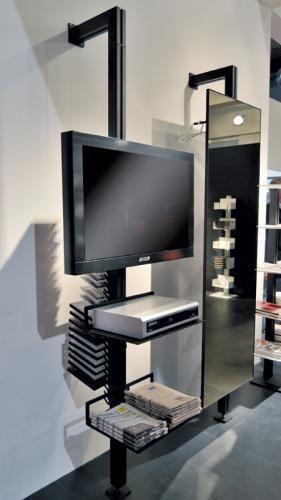 totem tv con snodo girevole.jpg | Libreria | Pinterest | Totems