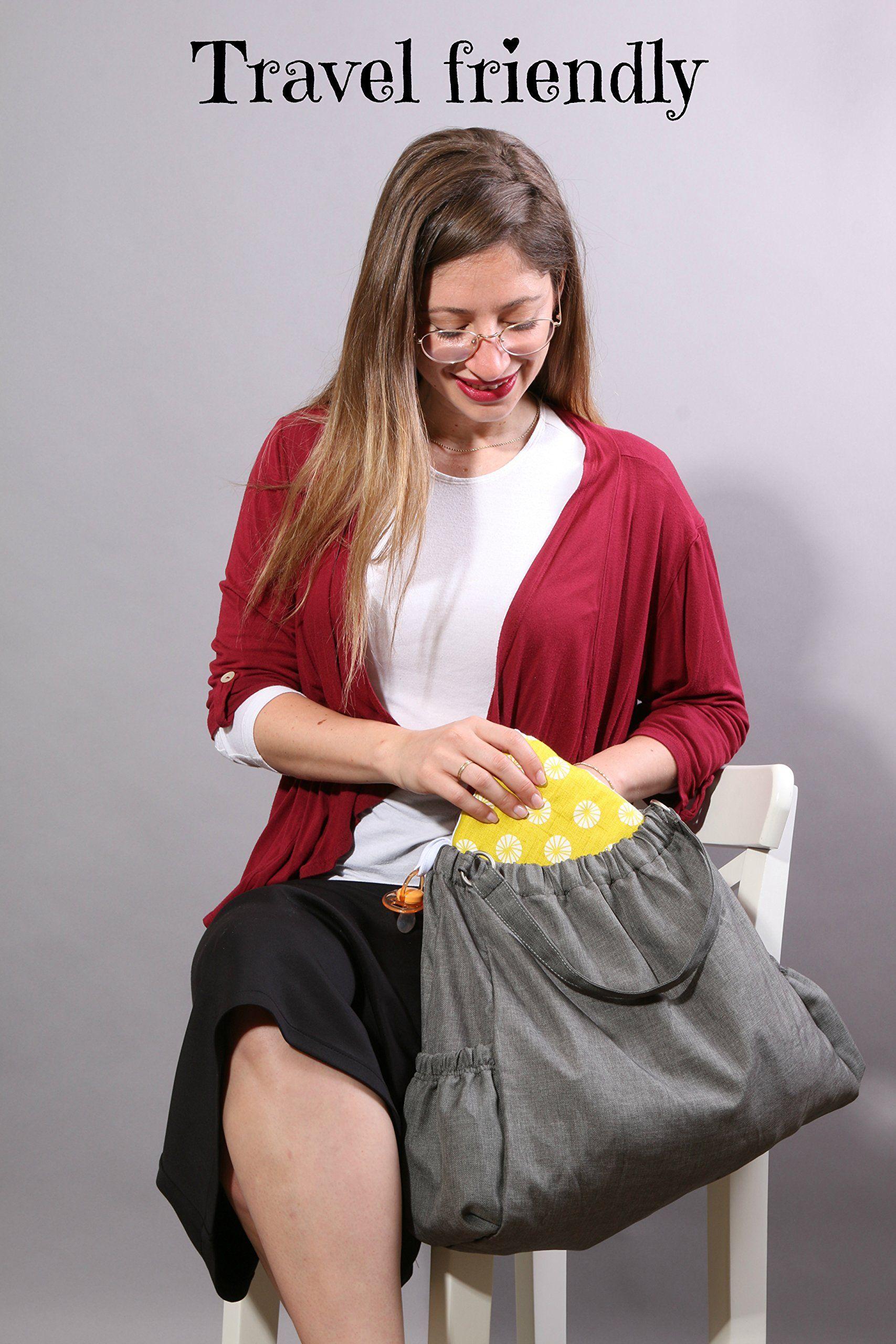 Friendly Deer Slip-on Arm Nursing Pillow /& Plush w//Slip-Cover /& Carry Bag 8.5 x 7 x 2.75 in
