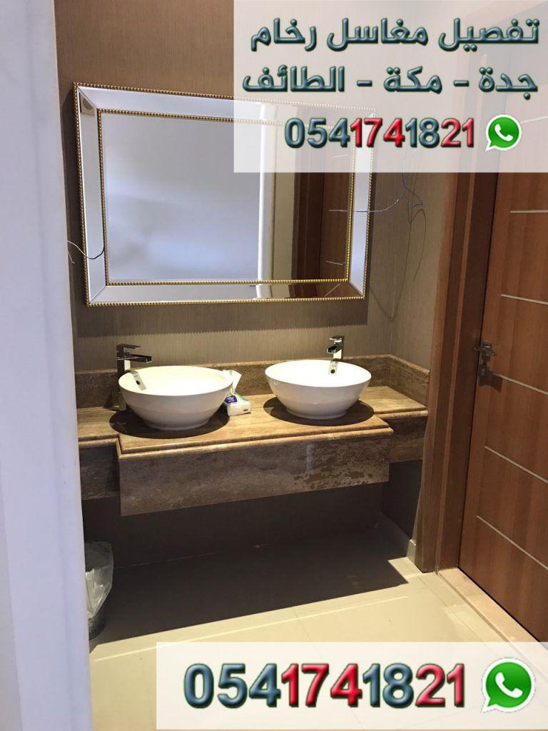 مصنع ايديال استون مغاسل رخام طبيعي وصناعي تفصيل حسب الطلب مغاسل رخام حديثة مغاسل رخام جدة خبرة اكثر من 22 ع Framed Bathroom Mirror Bathroom Mirror Home Decor