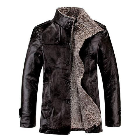 Winter Stand Collar Leather Jackets