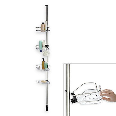 The Oxo Good Grips Lift Amp Lock Pole Caddy Features The