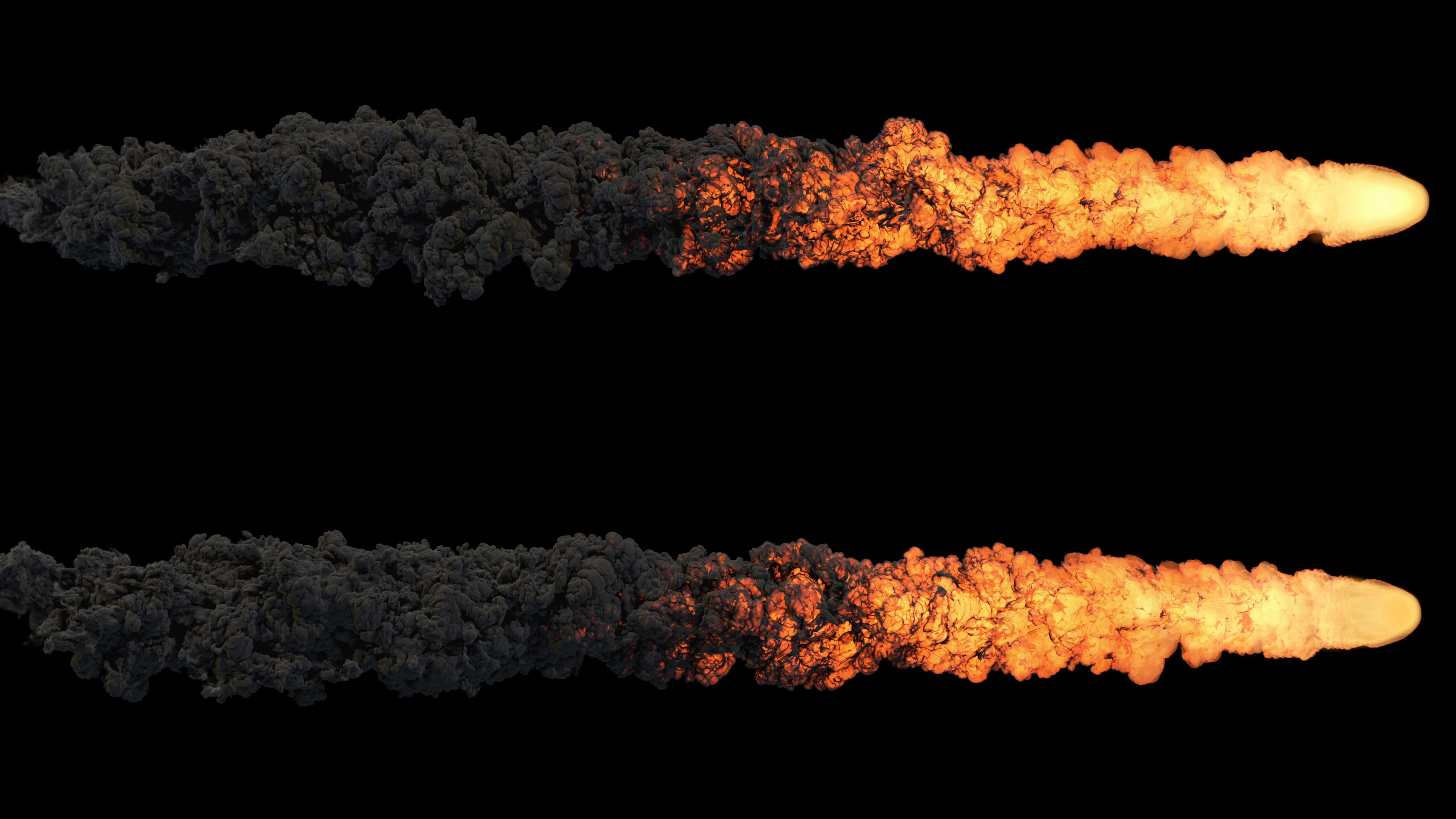 Meteor Or Asteroid Trail Fire And Smoke With Alpha Mask Stock Footage Trail Fire Meteor Asteroid Fire Image Design Illustration Design