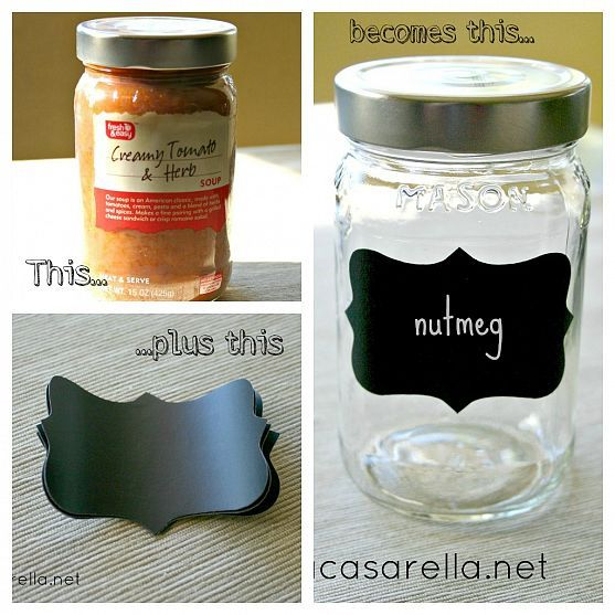 Mason Jar Spice Jar Recycled Jars Jar Crafts Spice Jars