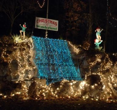 Christmas Lights In St. Louis: Winter Wonderland In Tilles Park