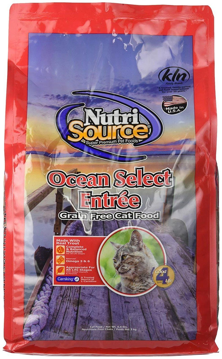 Nutrisource GrainFree Ocean Select Cat Food 6.6LB