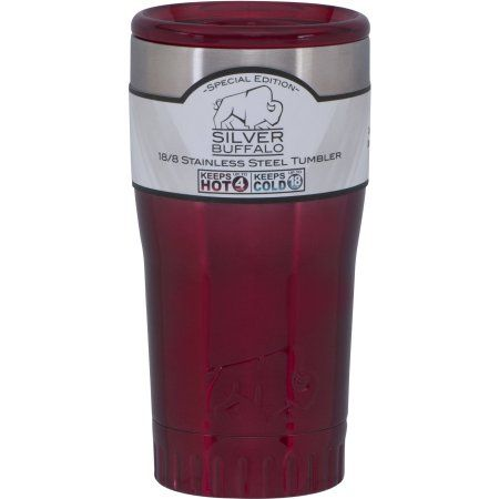 SB Stainless Steel Tumbler, Ombre Red