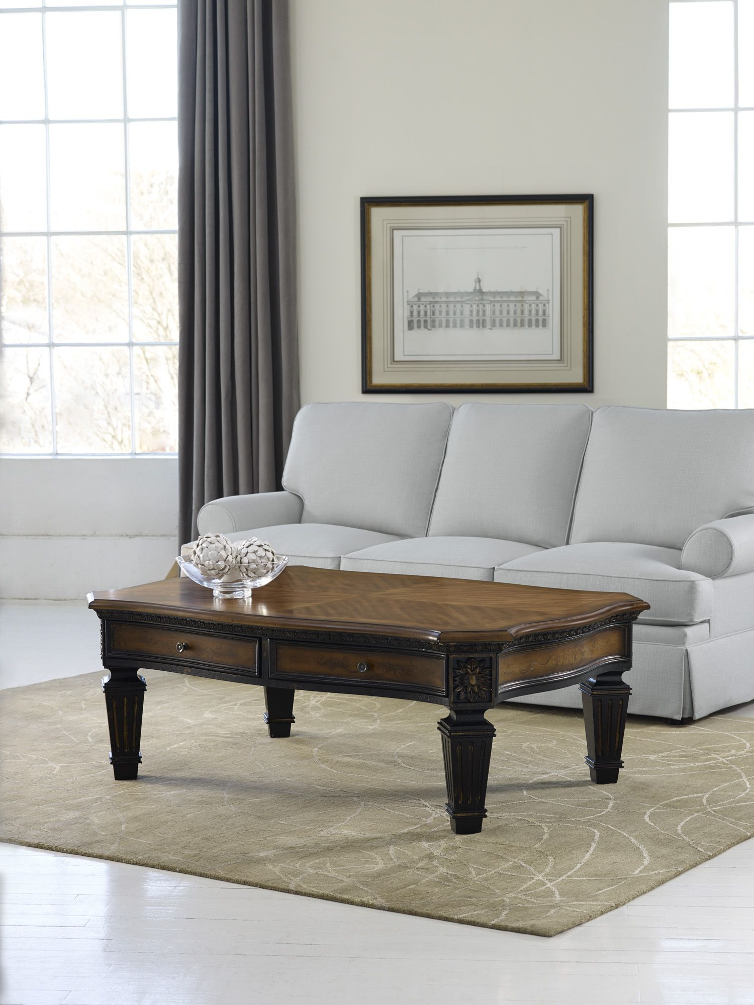 Charming H Contract Furniture | 779 80 110 North Hampton Rectangular Cocktail Table