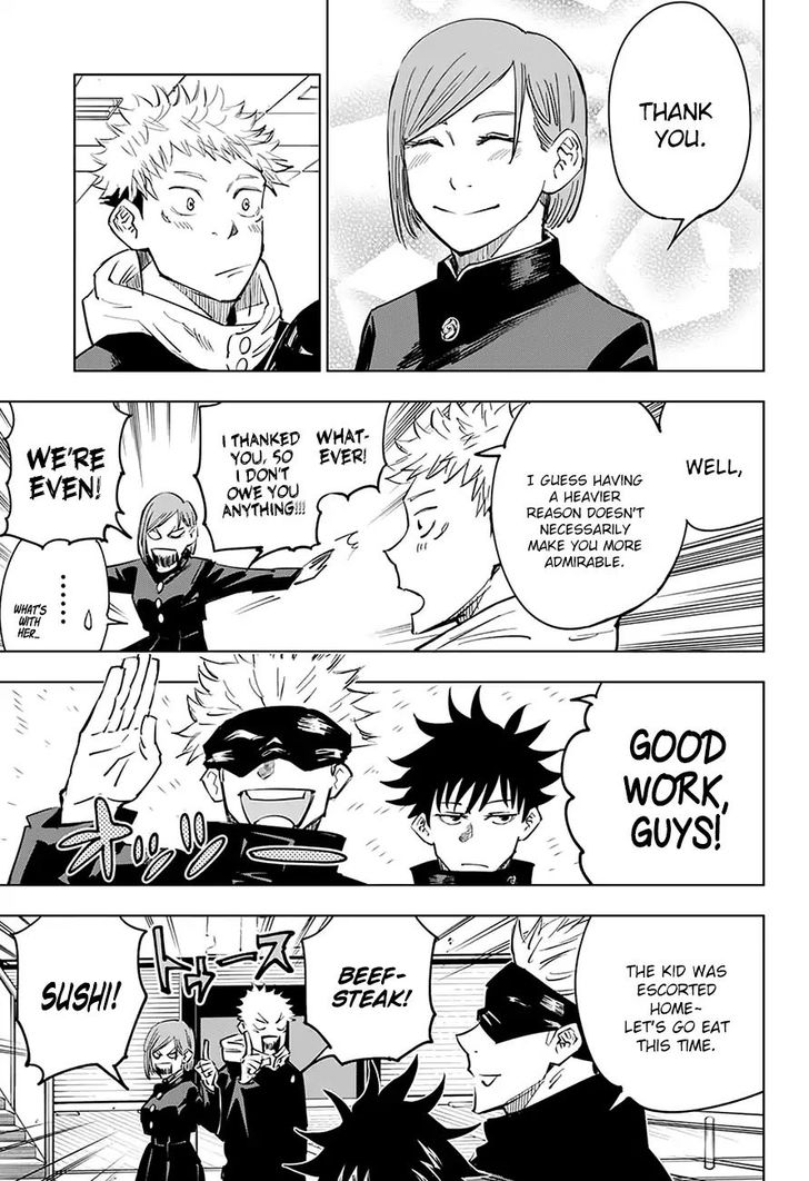 Jujutsu Kaisen Chapter 5 Jujutsu Kaisen Manga Online In High Quality Jujutsu Manga Pages Manga