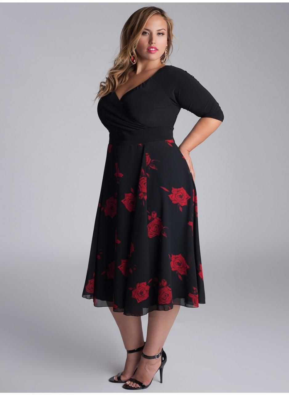 Semi-Formal Plus Size Tops