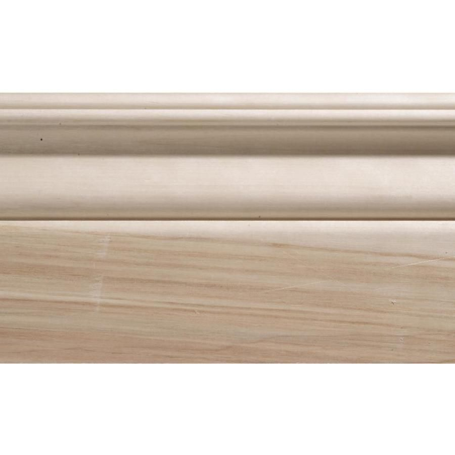 Artistic Stairs Canada: Evertrue 8-Ft Interior White Hard Unfinished Baseboard