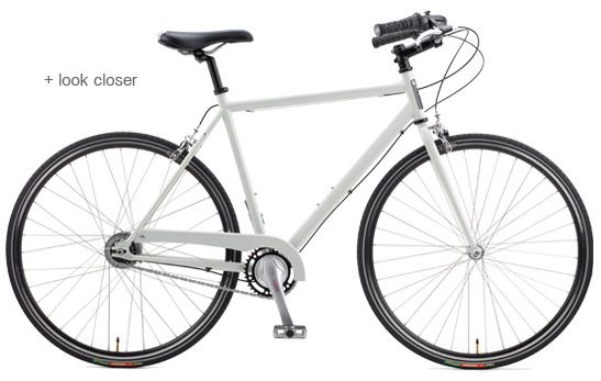 """@Sarah Magill this is the one I was recommending. It has a nice internally geared rear hub. I'm not a believer in single speeds. The model name is """"Fillmore."""""""