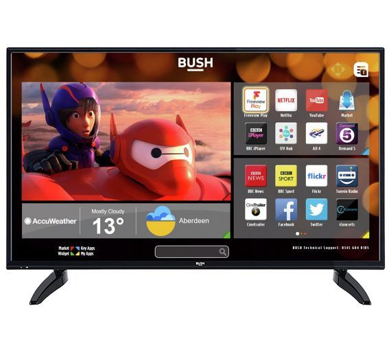 buy bush 49inch fhd smart tv with freeview play at argos co uk rh pinterest co uk bush tv user manual bush tv recorder manual