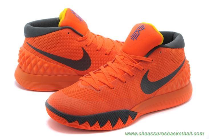 Nike Kyrie 1 Wholesale Orange Dark Grey, cheap Nike Kyrie If you want to  look Nike Kyrie 1 Wholesale Orange Dark Grey, you can view the Nike Kyrie 1  ...