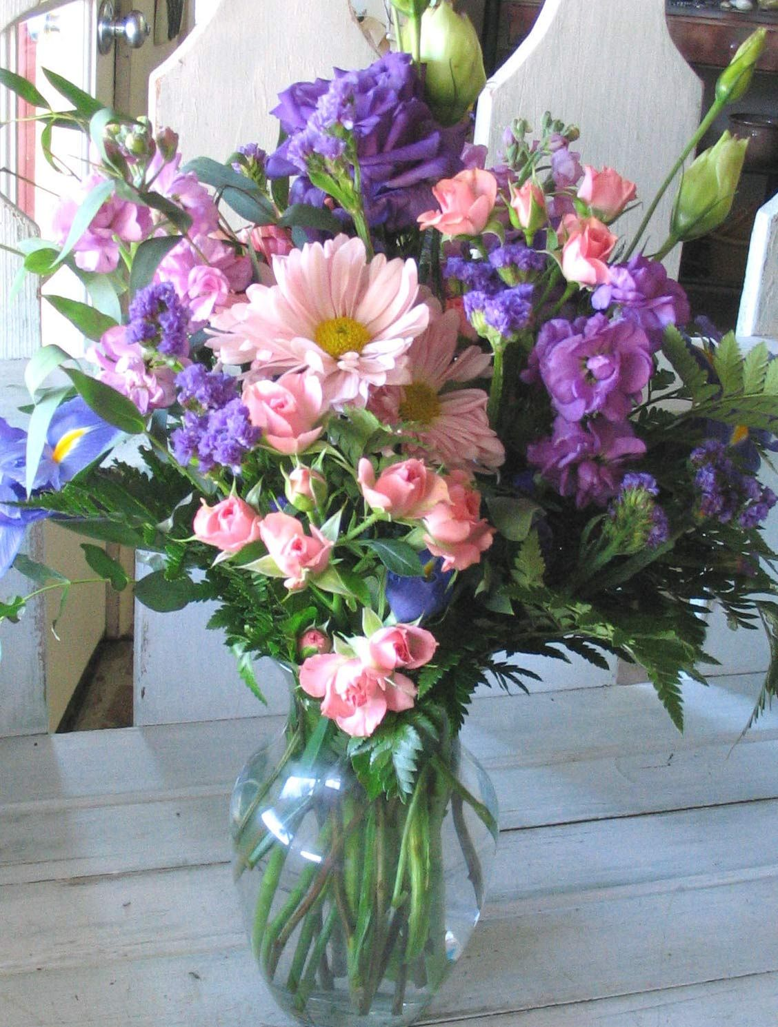 Blue Purple Pink Yellow Bouquet Google Search Wedding