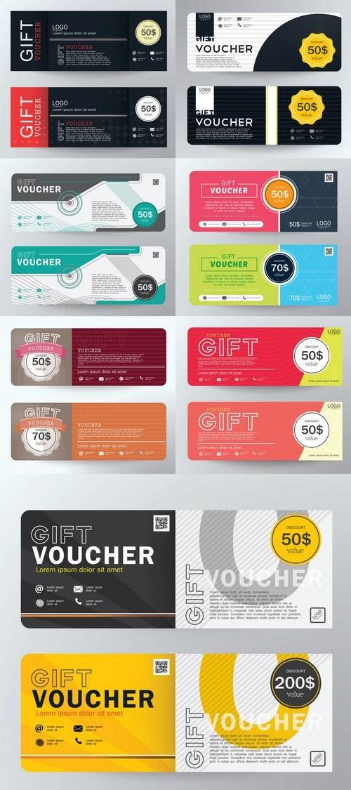 Voucher Gift Certificate Coupon Template Gift Certificate