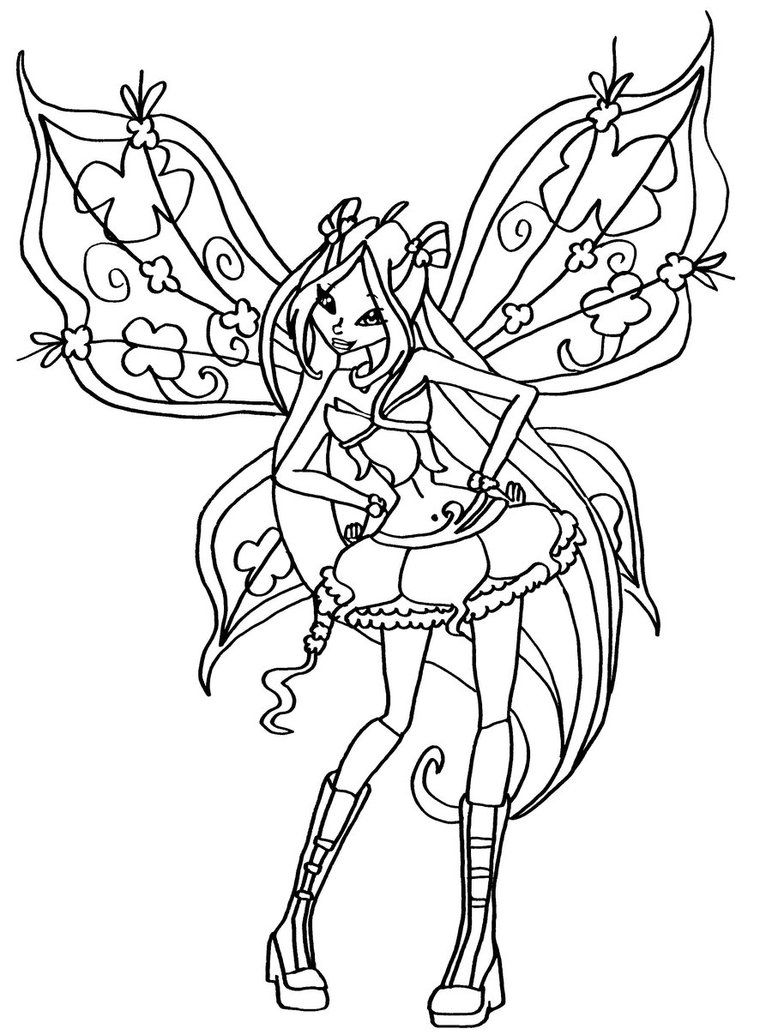 Winx Club Coloring Pages Google Search Desenho