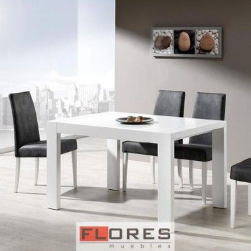 Mesa DANI extensible - MUEBLES FLORES S.L.#/color_sillas_general-wengué_129/medidas-90x130_190