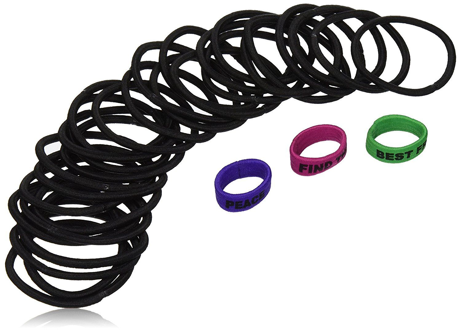 Vidal Sassoon Braided Elastics With 3 Expression Bands, 33 Count ** Check out this great product.
