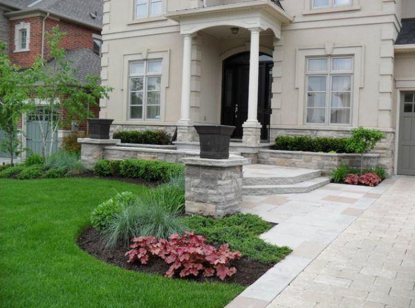 Patio Design Ideen - Vorgarten gestalten Landscape Pinterest - outdoor patio design ideen