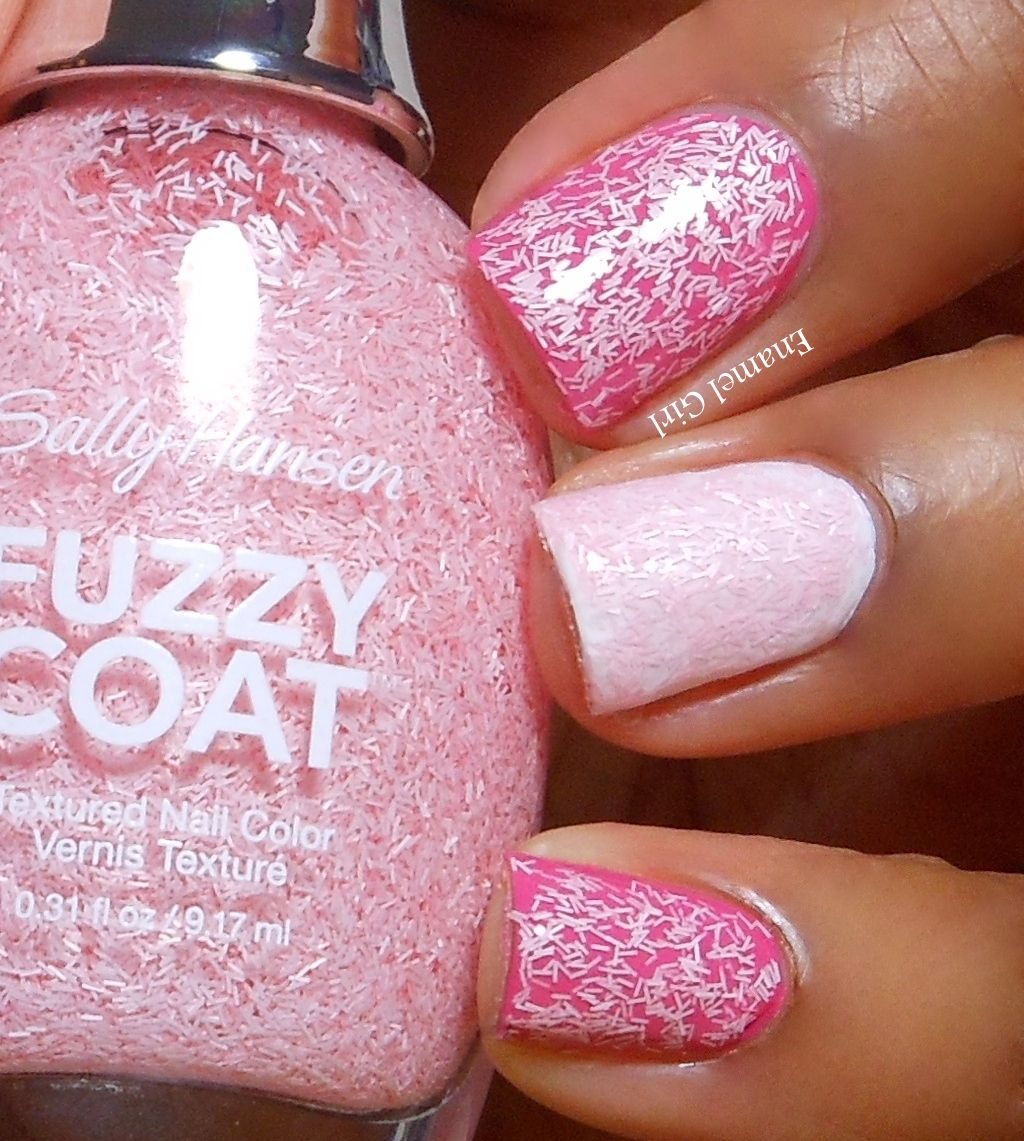 Enamel Girl: Sally Hansen Fuzzy Coat and Sugar Coat Summer 2013 ...