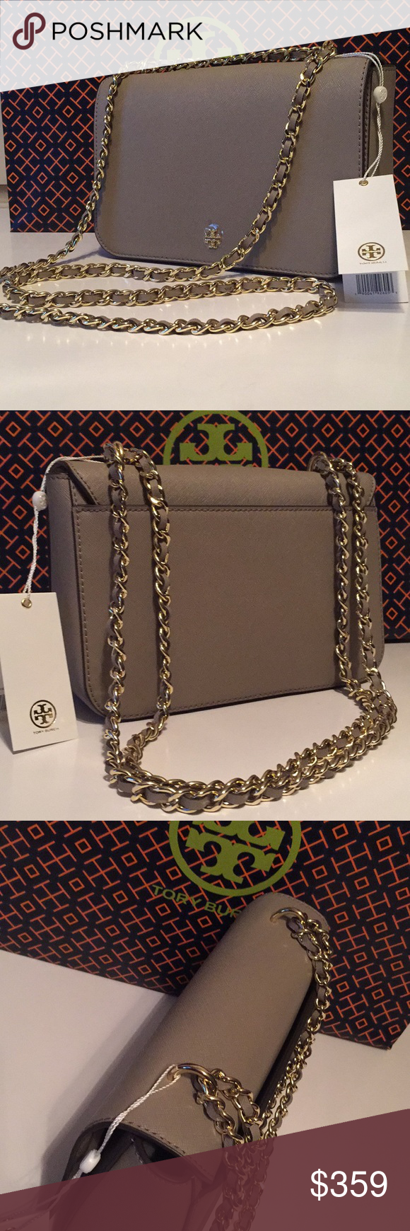 d7399d295f39 NWT Tory Burch Emerson Adjustable Shoulder Bag NWT Tory Burch Emerson  Adjustable Shoulder Bag. Authentic