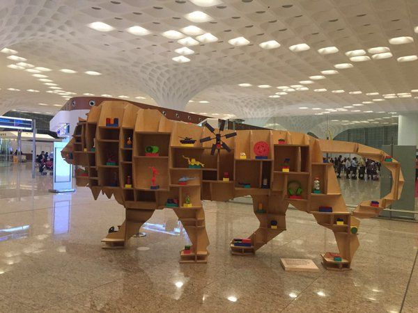 Make In India Week Mumbai Campaign | Mumbai airport, Mumbai