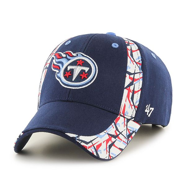 d6178a6cfc593c Tennessee Titans Side Cut MVP Light Navy 47 Brand Adjustable Hat ...