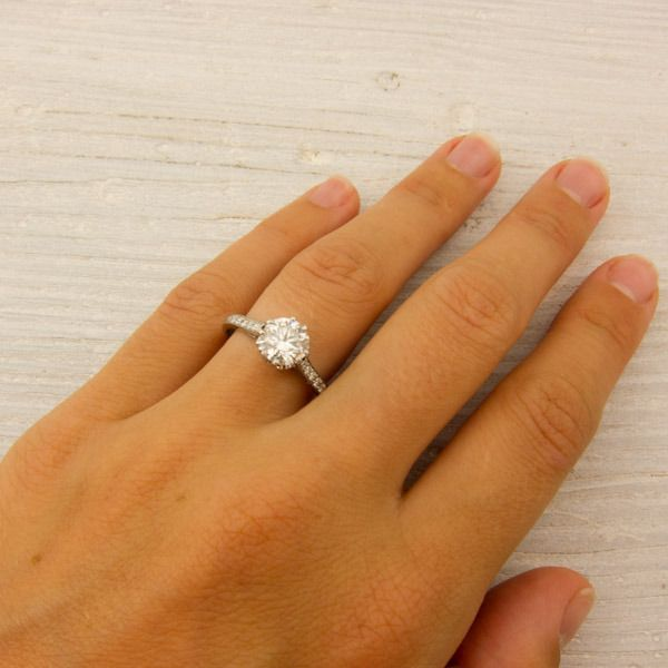 But Then I Found This One And Its About 11 000 More Expensive Tiffany Engagement Ring 1 Carat Engagement Rings Tiffany Wedding Rings